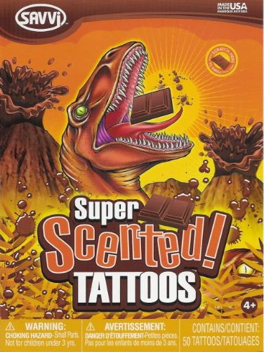 Chocolate Scented Tattoos